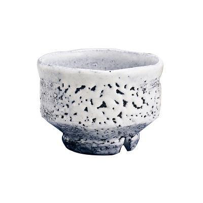 ●【送料無料】白萩楽形茶碗 節夫-41「他の商品と同梱不可/北海道、沖縄、離島別途送料」