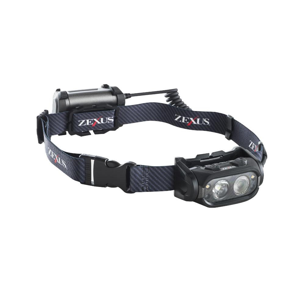 ●【送料無料】YAZAWA(ヤザワコーポレーション) LEDヘッドライト 800lm ブースト搭載モデル ZX-S700「他の商品と同梱不可/北海道、沖縄、離島別途送料」