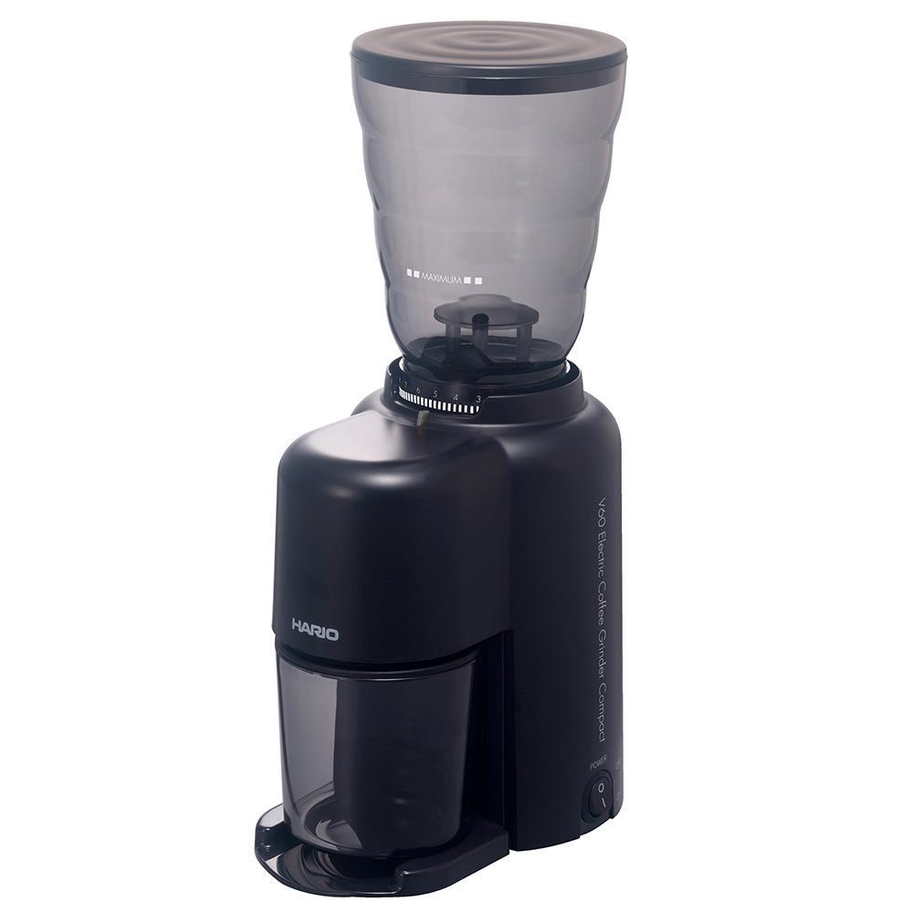 ●【送料無料】HARIO ハリオ V60 電動コーヒーグラインダーコンパクト EVC-8B「他の商品と同梱不可/北海道、沖縄、離島別途送料」