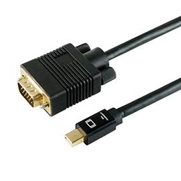 沖縄 新着セール 離島別途送料 卓出 メーカー欠品完売時はご容赦下さい ☆HORIC Mini Displayport→VGA変換ケーブル VGA 1m to Displayport MDPVG10-183BK