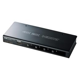 ☆サンワサプライ 4K2K対応HDMI切替器(4:1) SW-UHD41H