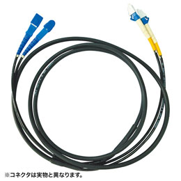 <欠品中 未定>☆サンワサプライ タクティカル光ファイバケーブル HKB-SCSCTA1-30