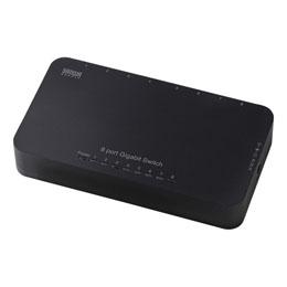☆サンワサプライ Giga対応スイッチングハブ(8ポート) LAN-GIH8APN