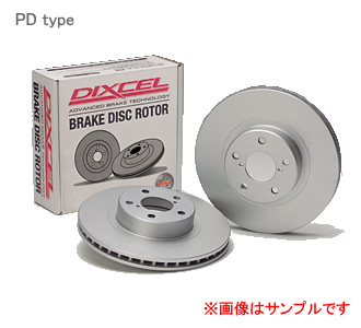 DIXCEL ディクセル ブレーキローター PD リア PD3456004Sミツビシ ランサーエボリューション CP9A (T.マキネン仕様含む) Evo./ RS オプション17インチ [Brembo] 98/2~00/03 【NF店】