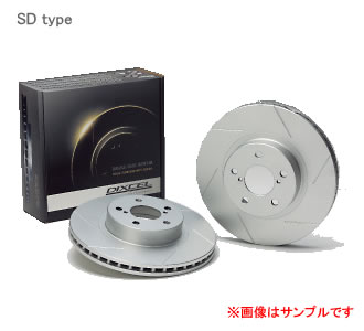 DIXCEL ディクセル ブレーキローター SD リア SD3456054Sミツビシ ランサーエボリューション CZ4A Evo. GSR オプション2ピース 07/10~ 【NF店】