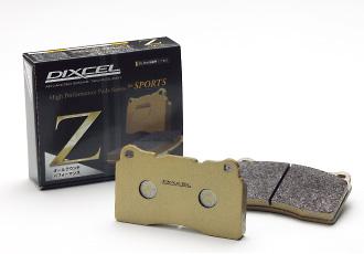 DIXCEL ディクセル ブレーキパッド タイプZ フロント Z381068 ダイハツ オプティ 660 98/11~01/09 L810S TURBO ABS付 【NF店】