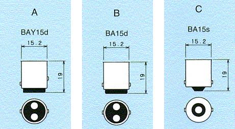 扶桑電機工業 (フォーカス) 【1ケース/100個入り特価】 【24V12W】 [A2251] 【ガラス球:G18/口金:BA15s(つば無し並ピン)】 自動車用電球 用途:ナンバー・パーキング・テール等