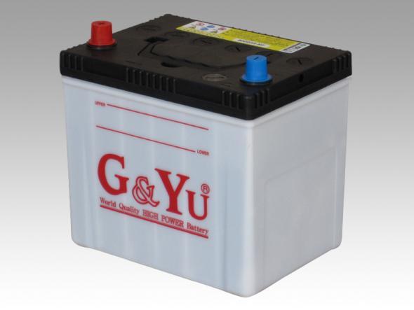 G&YU ジーアンドユー バッテリー 国産車 ecobaシリーズ 80D23R