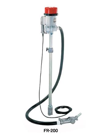 工進 コーシン 電動式ドラムポンプ 強力型フィルポンプ(低粘度油用) AC100V [FR-200]<代引不可>