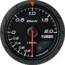 Defi デフィ アドバンス ターボ計200KPA(クロ) ADVANCE CR60MM DF08602 【NF店】