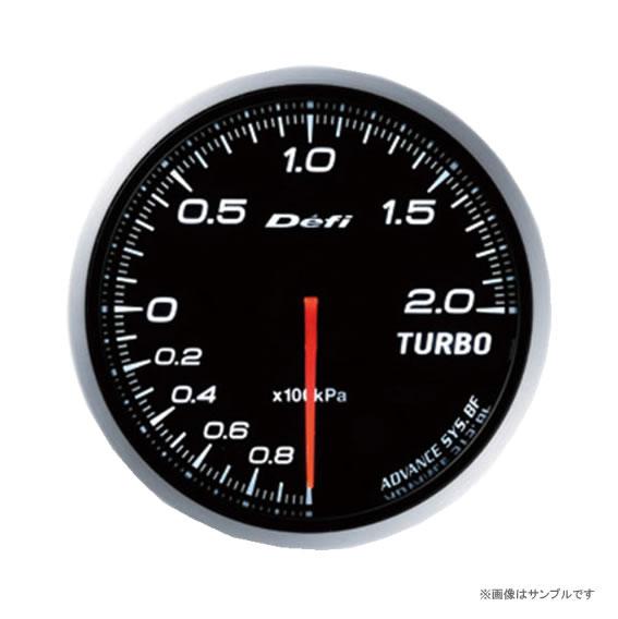 Defi デフィ ADVANCE BF ターボ計 200kpa ホワイト DF09901 【NF店】