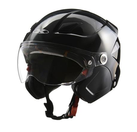 LEAD リード工業 X-AIR SOLDAD ( ソルダード)システムヘルメット ブラック