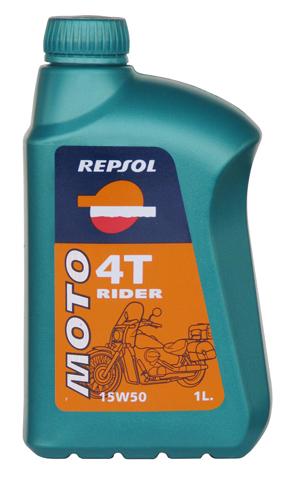 REPSOL(レプソル) 2輪用エンジンオイル MOTO Rider 4T(モト・ライダー4T) 15W-50 鉱物油 【1Lボトル12本入り1ケース】 [007027] 【NF店】