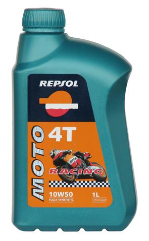 REPSOL(レプソル) 2輪用エンジンオイル MOTO Racing 4T(モト・レーシング4T) 10W-50 100%化学合成油 【1Lボトル12本入り1ケース】 [007034] 【NF店】