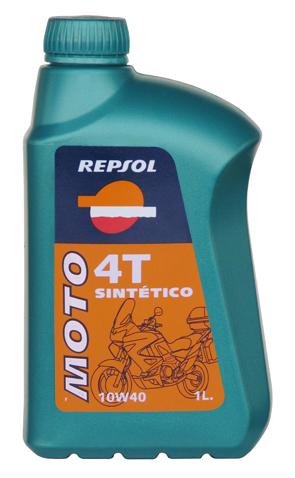 REPSOL(レプソル) 2輪用エンジンオイル MOTO Sint_tico 4T(モト・シンセティック4T) 10W-40 100%合成油 【1Lボトル12本入り1ケース】 [007036] 【NF店】