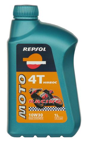 REPSOL(レプソル) 2輪用エンジンオイル MOTO Racing 4T HMEOC(モト・レーシング4T HMEOC) 10W-30 100%化学合成油 【1Lボトル12本入り1ケース】 [007038]