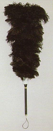 高級毛バタキ オーストリッチ 毛バタキ D80 【NF店】