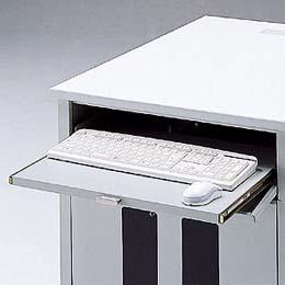 ☆サンワサプライ ラック 鍵付きキーボードスライダー DSK-SVKB