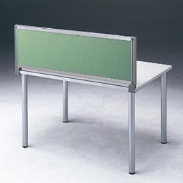 <欠品中 未定>☆サンワサプライ デスクオプション デスクパネル(グリーン) OU-0470C3005