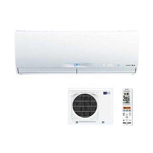 〔送料無料〕三菱 冷暖房エアコンMSZ-ZXV364S-W  ウェーブホワイト単相200V 12畳 (沖縄・離島・一部地域は別途送料)