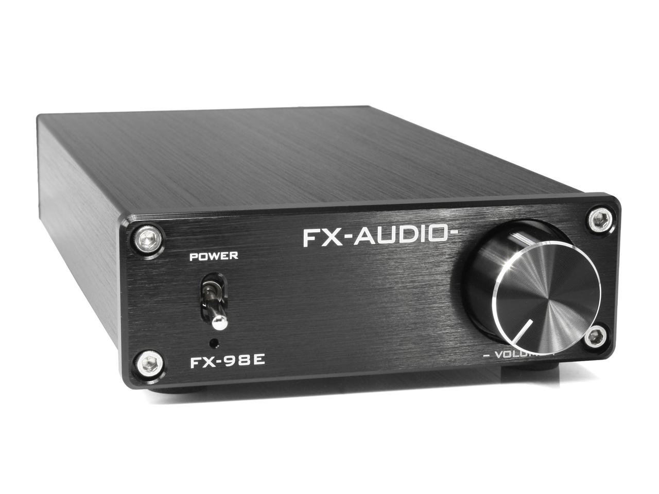 【送料無料】FX-AUDIO- FX-98E 『ブラック』 TDA7498EデジタルアンプIC搭載 160Wハイパワーデジタルアンプ