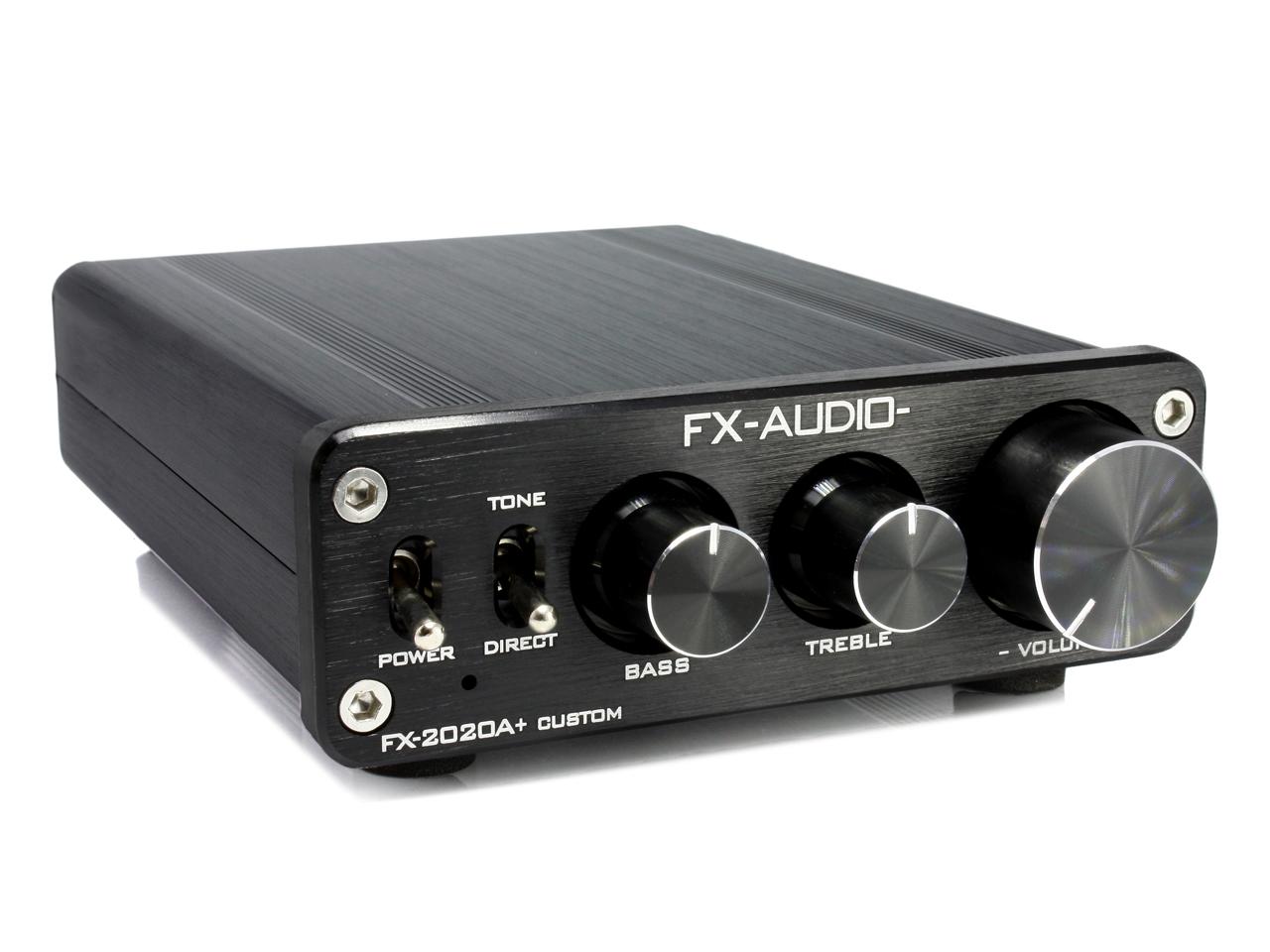 FX-AUDIO- FX-2020A+ CUSTOM [ブラック]TRIPATH製TA2020-020搭載デジタルアンプ