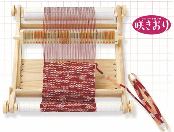 【送料無料】手織り機 咲きおり 40cm手芸用品 編み機 裁縫 趣味 ホビー 手作り 手織 織機 簡単 手芸 初心者 シンプル 子ども 老人 プレゼント