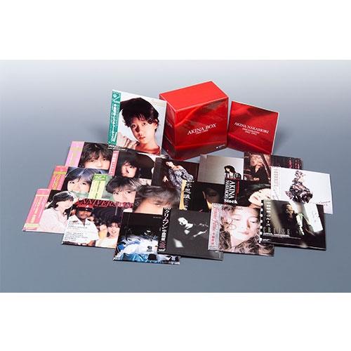 中森明菜 AKINA BOX 限定版 CD 全18枚