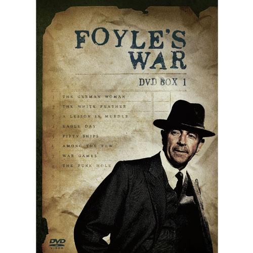 刑事フォイル ~FOYLE'S WAR~ DVD BOX1 全8枚セット