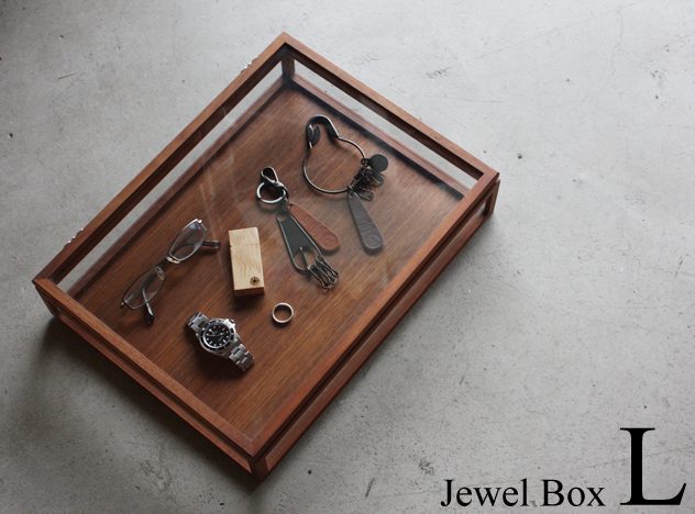 a.depeche WALNUT JEWEL BOX L/ (ア.デペシュ ジュエルボックス)/ジュエリーボックス アクセサリーケース 宝石箱 ジュエリー収納 小物収納/