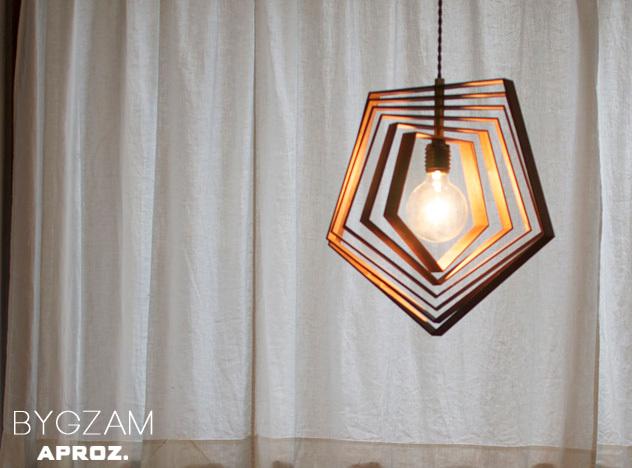 BYGZAM / ビグザム APROZ / アプロス 100W 日本製 ペンダントライト 照明 ライト オブシェ 木 無垢 AZP-570-BR