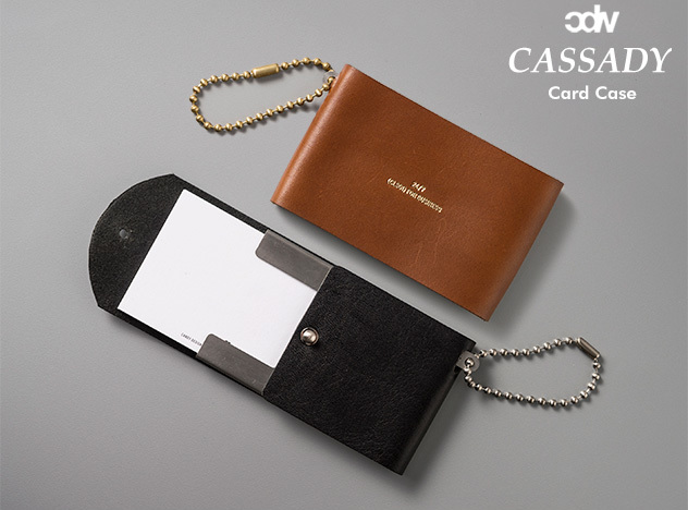 CDW CASSADY (CARD CASE) / キャサディ コインケース CANDY DESIGN & WORKS キャンディ デザイン&ワークス 本革 レザー名刺入れ 定期入れ パスケー 日本製 DETAIL