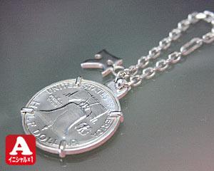 【父 母】誕生日プレゼント リバティベル誕生年銀貨キーホルダー【送料無料】【誕生年】【銀貨】【libertybell】【キーチェーン】【キーリング】