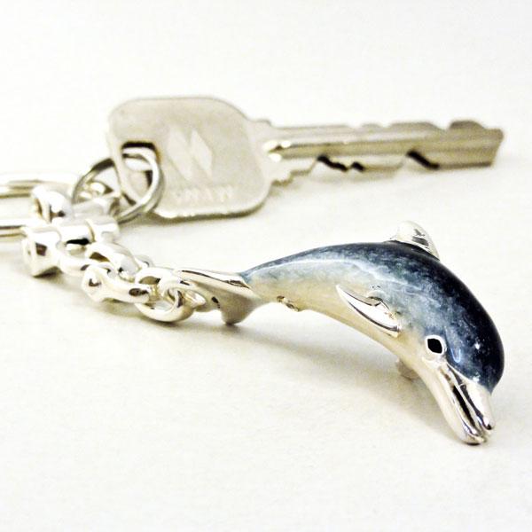 イルカのキーホルダー サツルノ イタリア製