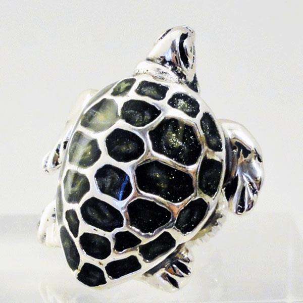 ウミガメ(海亀) ラペルピン サツルノ社 イタリア製