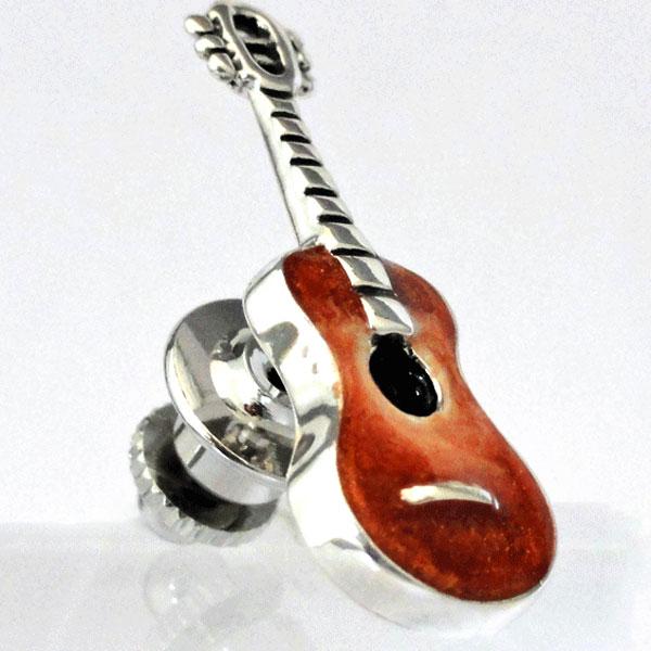 ラペルピン ギター サツルノ社 イタリア製
