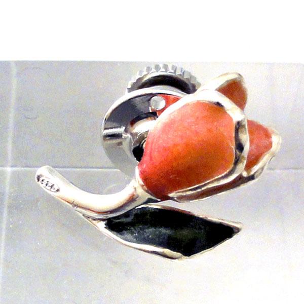 チューリップ ラペルピン サツルノ社 イタリア製