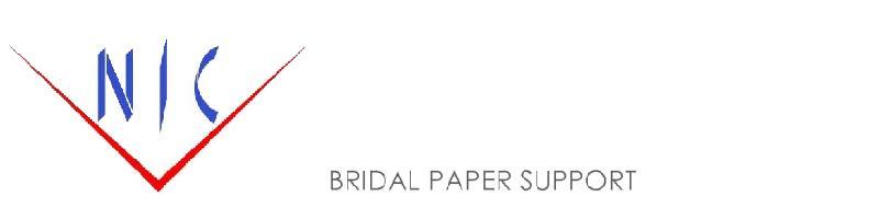NICブライダルペーパーサポート:ブライダルペーパーアイテムの専門店です