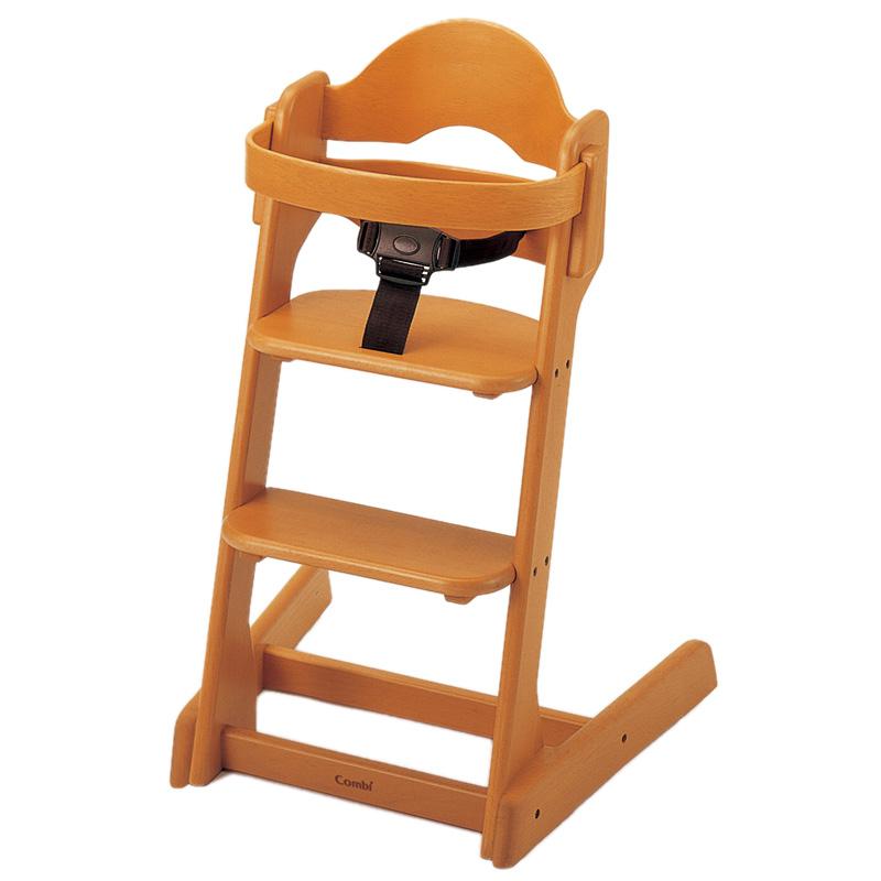 コンビ 施設ハイチェア HC22【Combi】ベビーチェア 木製チェア 椅子 外食 飲食店 子供用ハイチェア