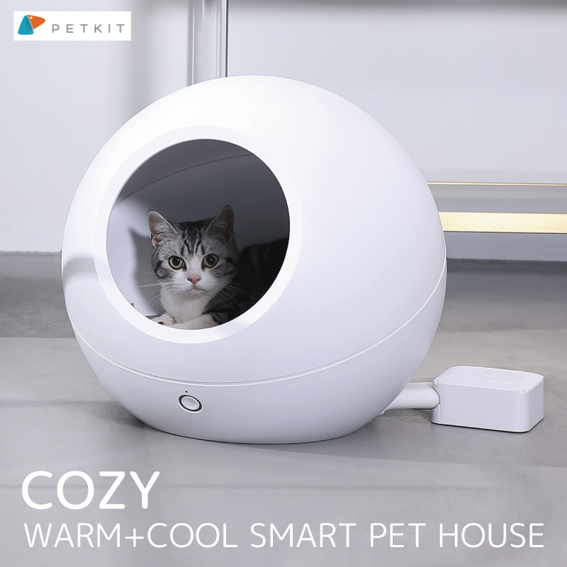 ペットキット スマート ペットハウス コージーPETKIT SMART PETHOUSE COZY 猫用ハウス 温度調節10~42℃