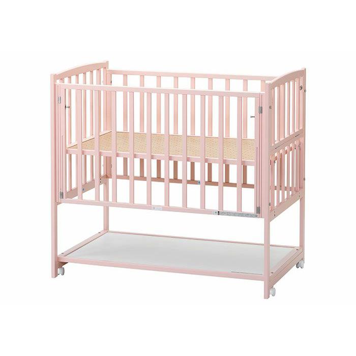 【国産】ハイタイプ ツーオープン ピンク収納棚付(標準サイズ)【ヤマサキ】DY-212P