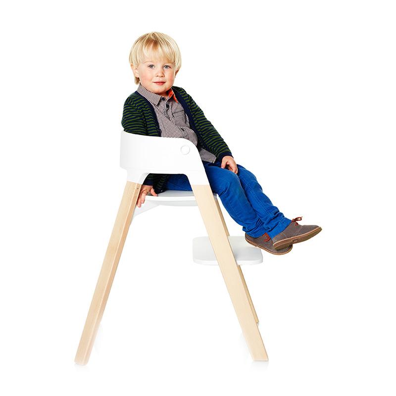 ストッケ ステップス チェアセット ビーチ【STOKKE】ベビーチェア ハイチェア stokke 木製 テーブル クッション