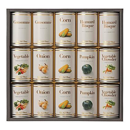 【送料無料】ホテルニューオータニスープ缶詰セット【内祝い お返し お祝い返し 返礼 内祝ギフト ギフト 贈答 贈り物 プレゼント】