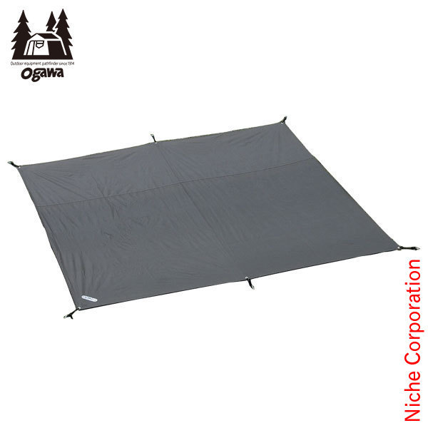 ogawaキャンパル ( オガワ ) PVCマルチシート ピルツ12用 [テント タープ キャンプ用品] 1423 キャンプ用品
