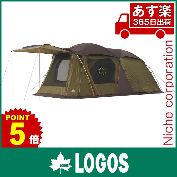 ロゴス プレミアム PANELストロングGドゥーブル XL-AH テント 71805522 キャンプ用品