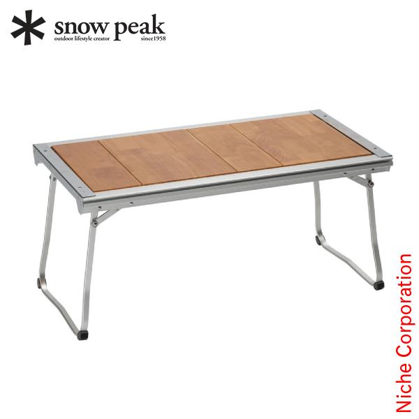 【カードでポイント+9倍】スノーピーク テーブル エントリーIGT CK-080 アウトドア 机 キャンプ 折り畳み デスク 新生活