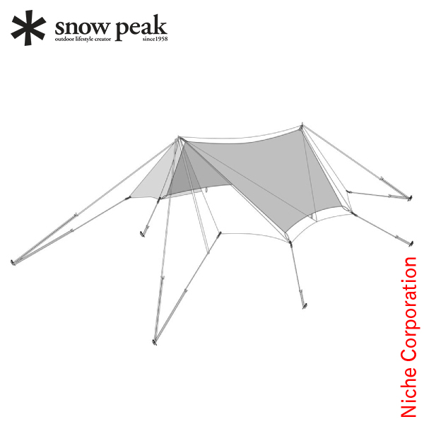 スノーピーク キャンプ タープ TAKIBI オクタ インナールーフ タープ TP-430-1 オクタ キャンプ 用品 テント ファミリー, ナチュラルウェブ:bc6991a1 --- data.gd.no