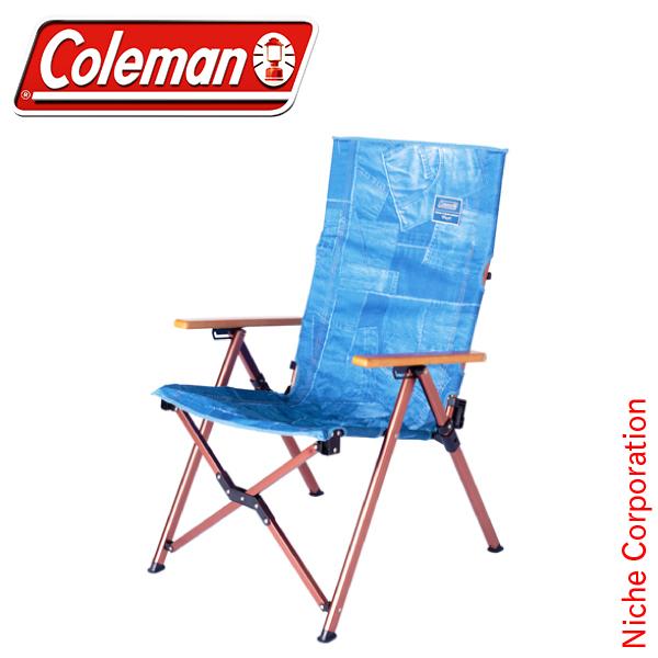 コールマン Indigo Label レイチェア (デニム) 2000030435 キャンプ用品