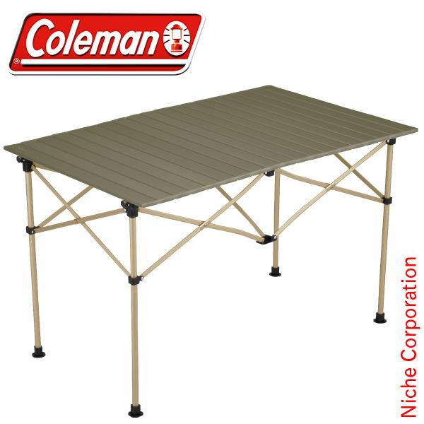 コールマン イージーロール2ステージテーブル/ 110 (オリーブ) 2000034679 キャンプ用品