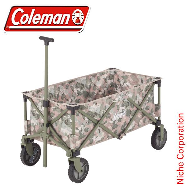 コールマン ストンプ アウトドアワゴン ナチュラルカモ 2000035347 キャンプ用品